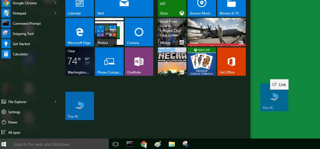 how we can easily access this pc in windows 10