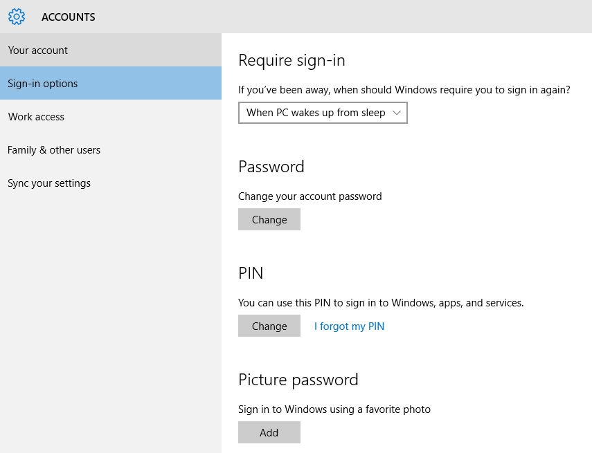 Windows 10: Setup Image as a Password in Windows 10 PC or ...