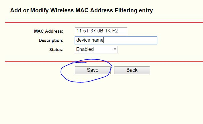 how to block add on router