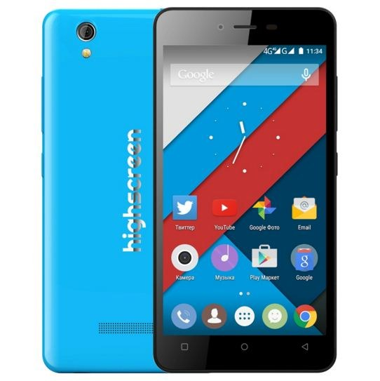 Highscreen Prime L Smartphone Full Specification