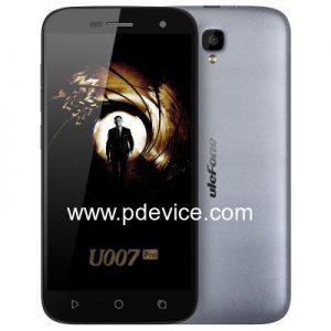 Ulefone U007 Pro Smartphone Full Specification