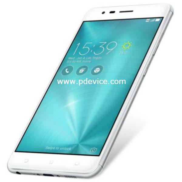 Asus ZenFone 3 Zoom ZE553KL 64GB Specifications Price