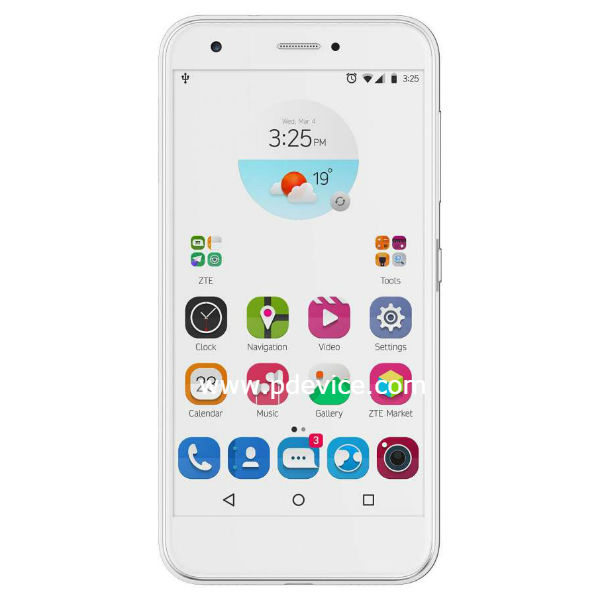 zte blade a520 2017 has two