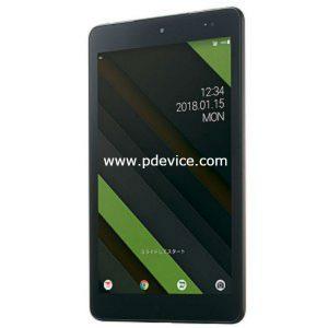 Kyocera Qua Tab QZ8 Tablet Full Specification