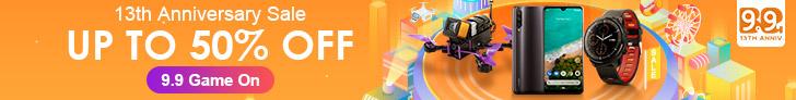 Banggood 13th Anniversary Sale Online 2019 Big Sale Online