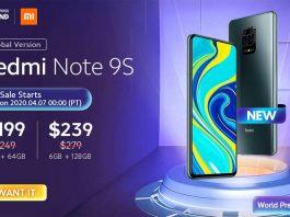 $40 Promo Code for Xiaomi Redmi Note 9S
